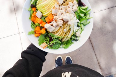 DYO salad. Photo from Mixt.com